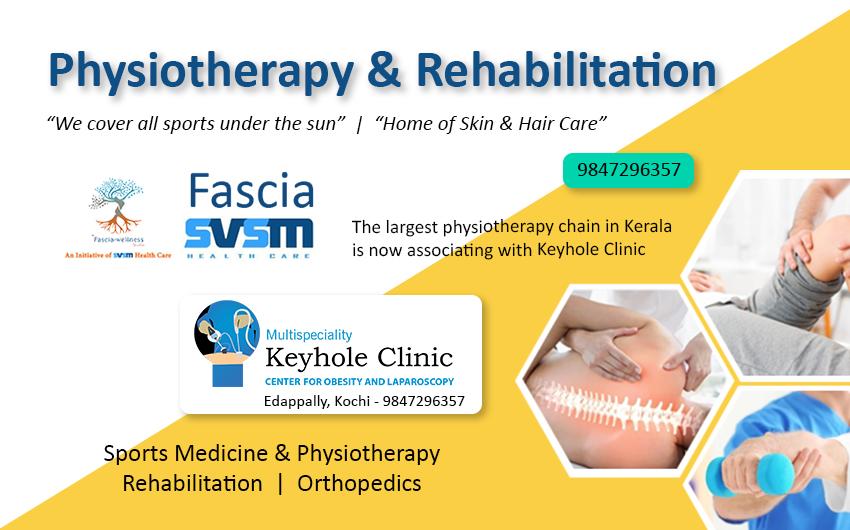 Fascia SVSM, Physiotherapy and Rehabilitation, Edappally, Kochi